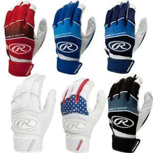 Rawlings Adult Baseball Workhorse Batting Gloves WH950BG 6 Colors