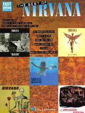 Nirvana The Best of Nirvana Easy Guitar Songbook Noten Tab für Gitarre leicht