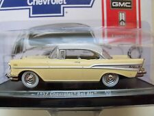 M2 MACHINES - AUTO-DRIVERS - 1957 CHEVROLET BEL AIR - 1/64 DIECAST