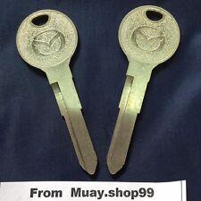KEYS BLANK FIT FOR MAZDA 626 NON Remote Twin Pack PROTEGE MPV VINTAGE MIATA CODE