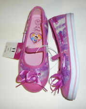 Disney Girls Toddlers Pink Princess Canvas Slip On Shoes Size 6 or 9 NEW