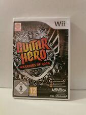 Guitar Hero - Warriors of Rock - Nintendo Wii - Pal - Sealed - Siehe...