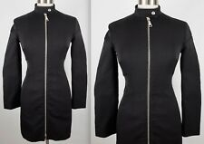 Prada Sport sz 38 / US 2 - 4 black dress zip up padded body long sleeves