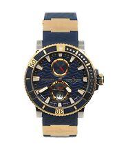 Ulysse Nardin Maxi Marine Diver 18K Rose Gold/Titanium Watch 265-90