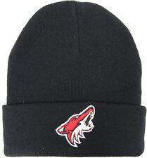 Mitchell & Ness Phoenix Coyotes Beanie Hat - Black