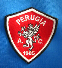 AC PERUGIA CALCIO logo longsleeves soccer jersey 1905 futbol sz 42 Italy lrg NWT