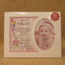 """A Special Baby Girl photo frame mount 10"""" x 8"""""""