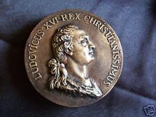 Louis XVI époux Marie-Antoinette plâtre patine bronze