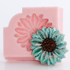 Silicone Mold Flower Daisy Candy Butter Soap Resin Wax Polymer Clay Mould  (515)
