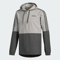 adidas ESSENTIALS 3-STRIPES WINDBREAKER Men's Size M $70 FI8171