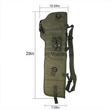 Tactical Rifle Scabbard Rifle Shotgun Military Case Shoulder Carry Pouch Hunting