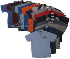 Used Uniform Work Shirts Red Kap Cintas Unifirst Mechanics