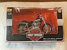 Maisto 1:18 Harley-Davidson 2002 Dyna Low Rider # 14 In Box