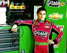 2014 Danica Patrick ASPEN DENTAL GODADDY.COM RACING NASCAR Signed 8x10 Photo #1