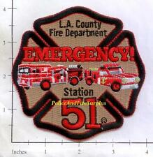 California - Los Angeles County Station 51 CA Fire Dept Patch - Sqaud 51