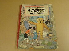 STRIP 1° DRUK HARDCOVER UIT 1952 / JO, SUUS EN JOKKO - DE MANITOBA ANTWOORDT...