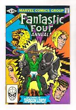 FANTASTIC FOUR ANNUAL 16 (VF/NM) DRAGON LORD (FREE SHIPPING) *