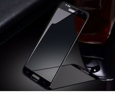 Full Curved Tempered Glass Screen Protector Fit for Samsung Galaxy S7  /Black