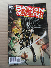 Batman And The Outsiders 8 . DC 2008 - VF