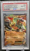 PSA 10 Landorus EX #89 BW Boundaries Crossed *POP 5* Pokemon Card 2012