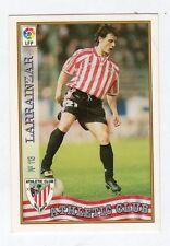 figurina card fichas - CARD LIGA 97/98 1997  - N. 113 ATHLETIC CLUB LARRAINZAR