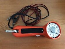 Western Electric Bell Systems Lineman ORANGE PHONE Rotary Dial and Line Wire