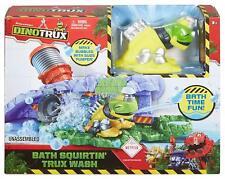 Dream Works DINOTRUX Playset Bath Squirtin' Trux Wash Bath Time Fun New Toy Gift