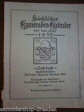 MI43 Sächsischer Kameraden- Kalender auf das Jahr 1932- Jahrbuch des sächsisch