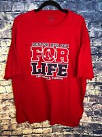 Gear for Sports Red Boston Red Sox For Life Adult Size 2XL New