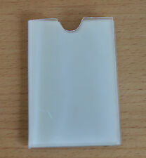 Clear Credit Card holder refill insert for card holder 10 pockets side opening
