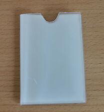 Transparente de crédito tarjeta titular Recarga Movible para titular de tarjeta 10 Bolsillos Apertura Lateral