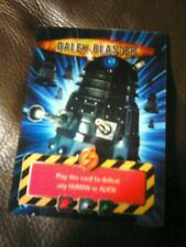Dr who battles in time card Dalek blaster
