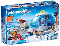 Playmobil Arctic Expedition Headquarters Kids Play 9055 NEW SAME DAY SHIP