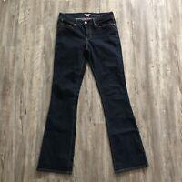 Denizen Levi's women's sz 10 long jeans dark modern bootcut stretch