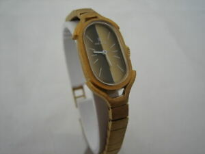 NOS NEW VINTAGE REVUE SWISS GOLD PLATED WATCH 60'S