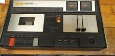 Vintage Akai CS-30D Stereo Cassette Deck. Powers up and tape runs.