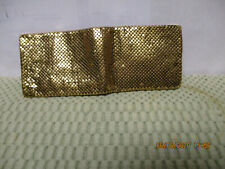 Whiting and Davis Mesh Mates Art Deco wallet Excellent Condition