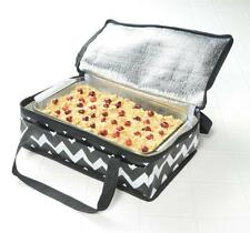 INSULATED CASSEROLE TOTE BAG TRAVEL CARRIER