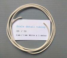 Scale Model Detail Tubing 2 mm White..1 meter Length..Revell..Italeri..Pocher
