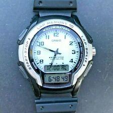 CASIO WS-300 (2329) Lap Memory 10 Lap Split Illuminator 40mm watch - New Battery
