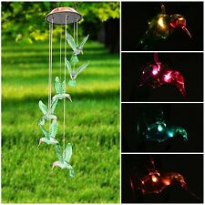 Color-Changing Led Solar Mobile Wind Chime Pathonor Led Changing Light Color .