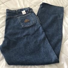 Bulwark Flame Resistant 100% Cotton Work Wear Blue Jeans Men's 44-35