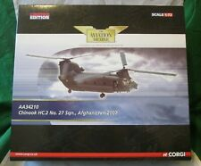 CORGI AVIATION ARCHIVE BOEING CH-47 CHINOOK HC.2 AFGHANISTAN 2007 1/72 #AA34210