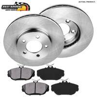 For Taurus Windstar Sable Front Kit Premium OE Brake Rotors & Metallic Pads