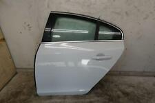 2011 - 2018 VOLVO S60 LEFT REAR DOOR SHELL (ICE WHITE 614) OEM