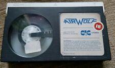 BETAMAX FILM TAPE - AIRWOLF - JAN MICHAEL VINCENT - CIC VIDEO - 1984