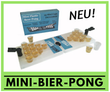 Mini-Bier-Pong - Travel Set - Partyspiel Trinkspiele Saufspiel Party-Trinkspiel