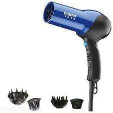 Conair IONIC HAIR DRYER PROFESSIONAL Turbo Quiet Styler Hair Blower w/ DIFFUSER