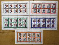 Bund 1757 - 1761 KB postfrisch BRD Kleinbogen Zehnerbogen 10 er Bogen