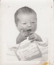 Baby Boy SCHMIDT 1956 Vintage Photo - Porter Sanitarium and Hospital , Denver